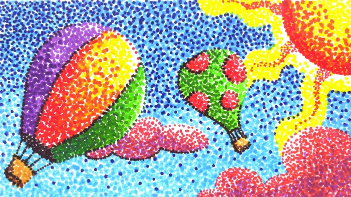 Pointilism Technique