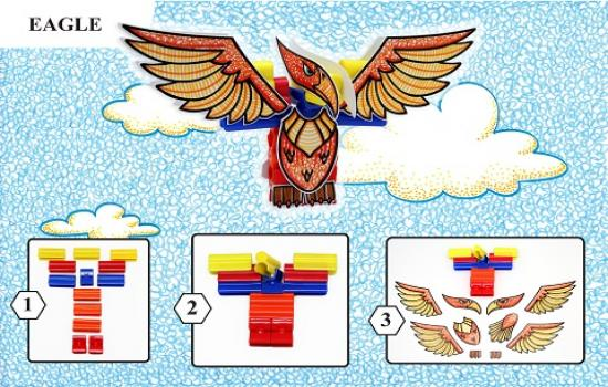 Step by step how to make Eagle